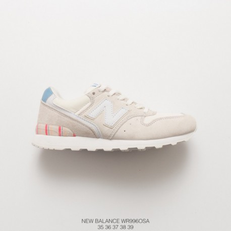 Wr996osa new balance classic womens new balance 996 womens smooth shoe design with delicate leather upper