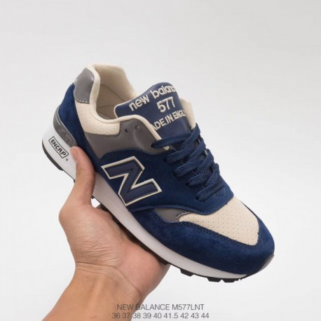 UNISEX Code 36-44 New Balance 577 Fall Winter UNISEX Couple Full Leather Casual Trainers Shoes
