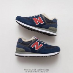 New-Balance-574-Suede-Trainers-New-Balance-574-Red-Suede-Trainers-ML574VG-Cotton-wool-blend-New-Balance-574-Cotton-wool-blend-T