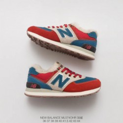 New-Balance-574-Suede-Mesh-Blue-Trainers-New-Balance-574-Suede-Trainers-In-Pink-ML574VG-Cotton-wool-blend-New-Balance-574-Cotto