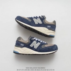 ML999NV New Balance 999 Vintage Increased Running Sportshoes With Abss