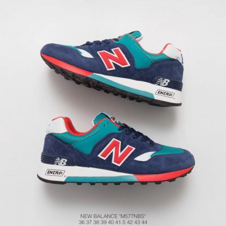 M577nbs New Balance 577 UNISEX Pigskin Trainers Shoes