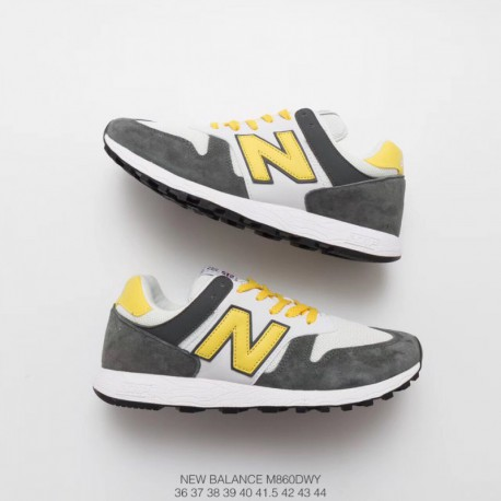 M860DWY New Balance 860 Pigskin Mesh Trainers Shoes