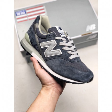 New Balance 996 Extreme Vintage Smooth Shoe Design With Delicate Leather Upper