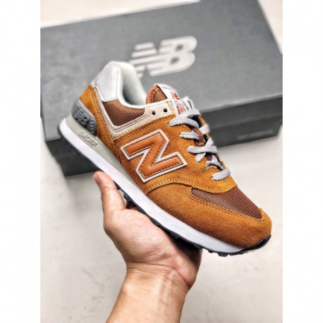 New Balance 574 Vintage Runs The Market Exclusive Color Shading C Ap Soft Suspension Midsole With Rock Stop Anti-Puncture techn