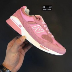 Female code 36-40 new balance 991.5 british pigskin breathable net cloth outdoor light racing shoes