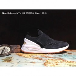 Male code 39-44 new balance mtl 111 official website new synchronous full pigskin / full leather men's casual sticky buckle jog