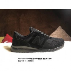 Male code 39-44 new balance /New banlance 005 2017 new deadstock pigskin leather net cloth high quality breathable leisure shoe