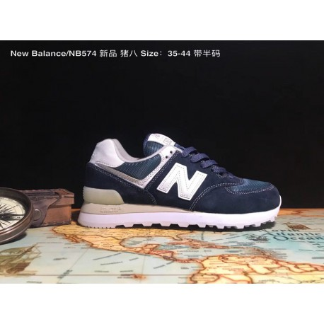 UNISEX Code 35-44 New Balance/ Nb574 Premium Pigskin Duck Classic Shoes That Are In Circulation All Year Round