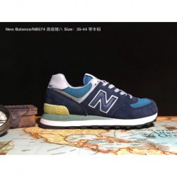 New-Balance-W574-Classic-New-Balance-574-All-Black-UNISEX-Code-35-44-New-Balance-NB574-Premium-Pigskin-Duck-Classic-shoes-that