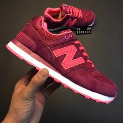 Mens-New-Balance-574-Sport-Synthetic-Casual-Shoes-Girls-Preschool-New-Balance-574-Casual-Running-Shoes-Summer-Special-Female-Co